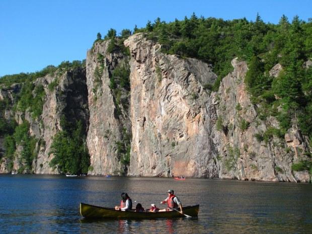The Wall, Bon Echo Provincial Park on Lake Mazinaw
