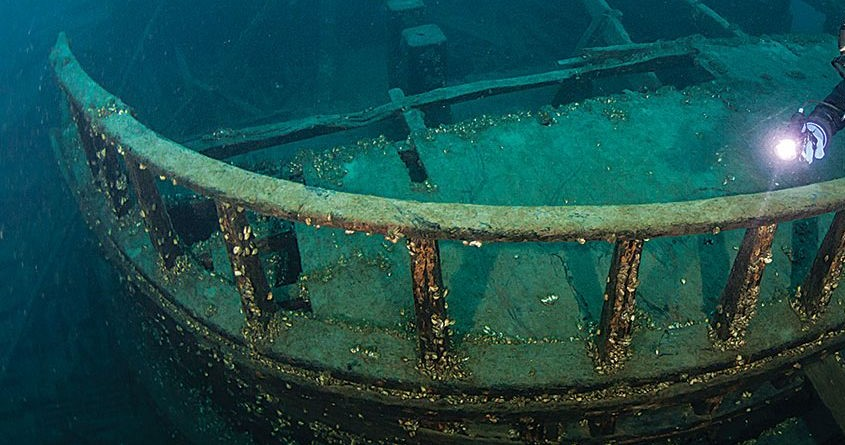 Ontario shipwreck