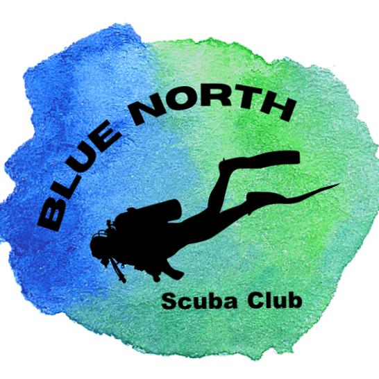Blue North Scuba Club logo