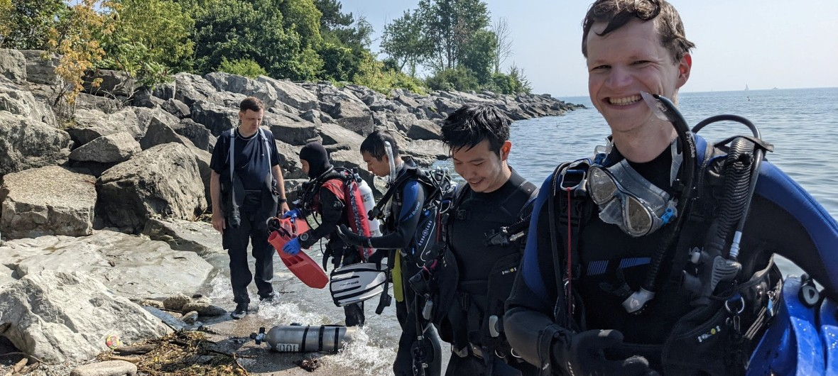 Scuba Certification completed with Blue North Scuba